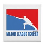 ML Fencer Tile Coaster
