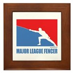 ML Fencer Framed Tile
