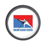 ML Fencer Wall Clock