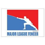 ML Fencer Large Poster