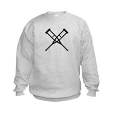 Crutches Sweatshirt