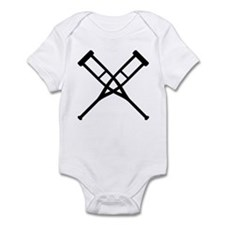 Crutches Infant Bodysuit
