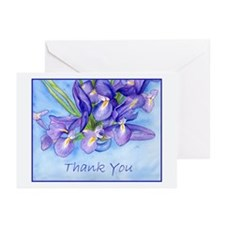 "Iris ""Thank You"" Greeting Cards (Pk of 10)"