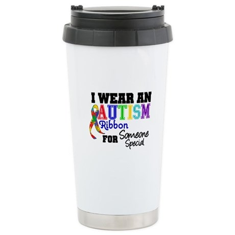Autism Ribbon Special Ceramic Travel Mug