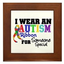 Autism Ribbon Special Framed Tile