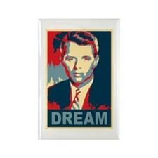 RFK DREAM Artistic Rectangle Magnet