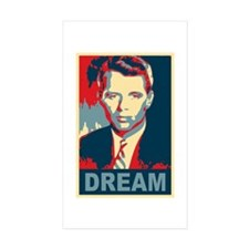 RFK DREAM Artistic Rectangle Sticker 10 pk)