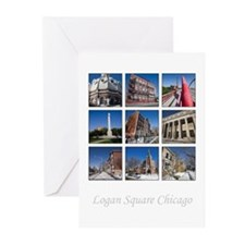 3x3 Photo Grid Greeting Cards (Pk of 20)