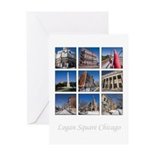 3x3 Photo Grid Greeting Card