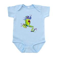 Frog Spring Green Infant Bodysuit