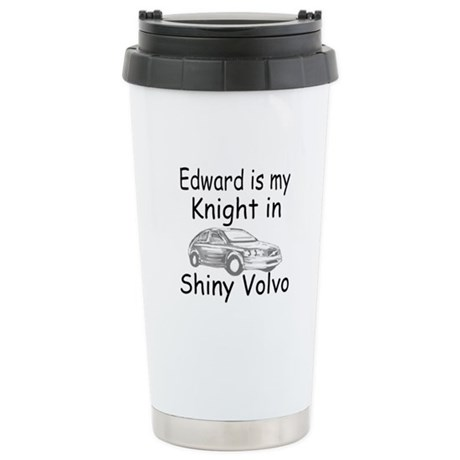 Shiny Volvo Ceramic Travel Mug