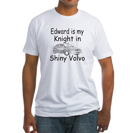 Shiny Volvo Fitted T-Shirt