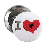 "I heart Albania 2.25"" Button"