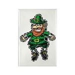 St. Patrick's Leprechaun Rectangle Magnet