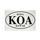 KOA Kona Rectangle Magnet