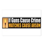Guns and Arson Postcards (Package of 8)