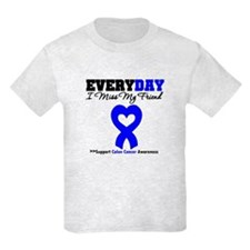 ColonCancerHeart Friend T-Shirt