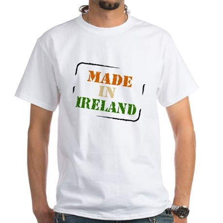 Made in Ireland White T-Shirt