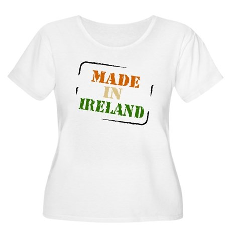 Made in Ireland Women's Plus Size Scoop Neck T-Shi