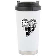 World's Best Mother Ceramic Travel Mug
