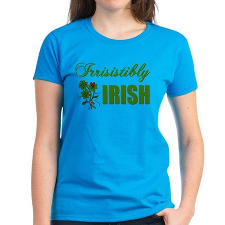 Irrisistibly Irish Women's Dark T-Shirt