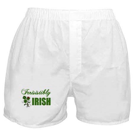 Irrisistibly Irish Boxer Shorts