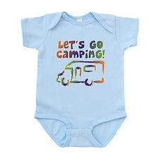 LET'S GO CAMPING! Infant Bodysuit