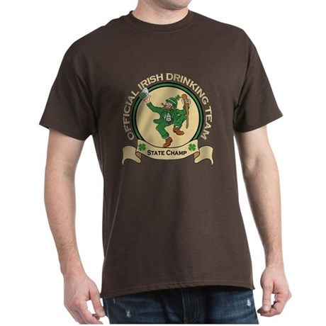 Official Irish Drinking Team Dark T-Shirt