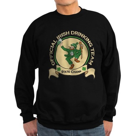 Official Irish Drinking Team Sweatshirt (dark)