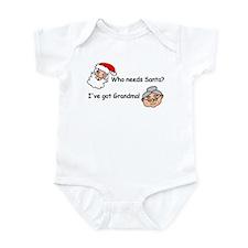 Who Needs Santa Infant Bodysuit