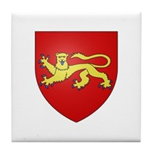 Duchy of Aquitaine Tile Coaster