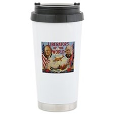 FDR & Churchill Ceramic Travel Mug