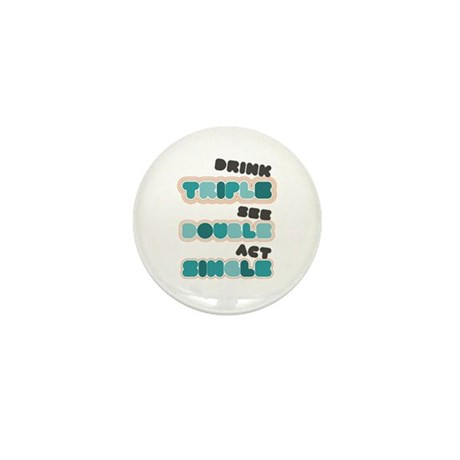 Funny Bachelor Party Drinking Mini Button