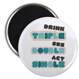 Funny Bachelor Party Drinking Magnet