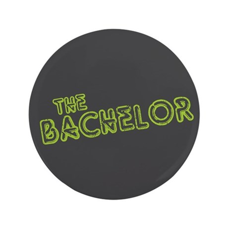 "Green ""The Bachelor&quot 3.5"" Button (100 pac"