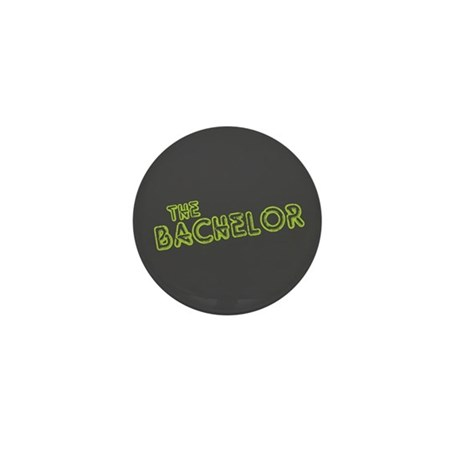 "Green ""The Bachelor&quot Mini Button (100 pac"