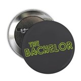 "Green ""The Bachelor&quot 2.25"" Button"