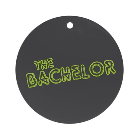 "Green ""The Bachelor&quot Ornament (Round)"
