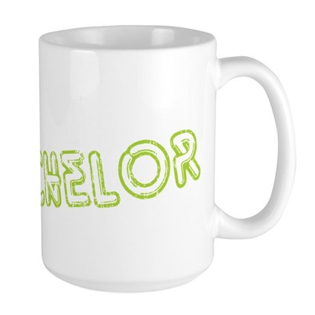 "Green ""The Bachelor&quot Large Mug"