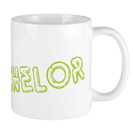 "Green ""The Bachelor&quot Mug"