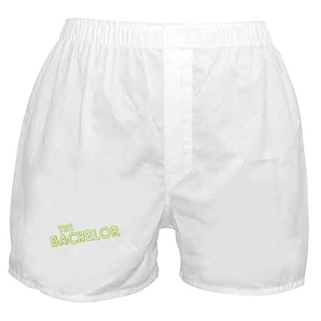 "Green ""The Bachelor&quot Boxer Shorts"