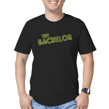 "Green ""The Bachelor&quot Men's Fitted T-Shirt"