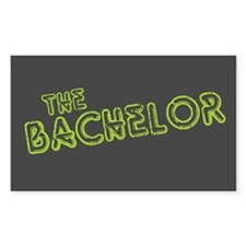 """Green """"The Bachelor&quot Rectangle Decal"""