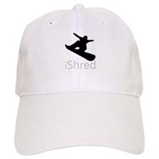 Snow Board Baseball Cap