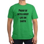Intelligent Life Men's Fitted T-Shirt (dark)