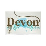Devon England Rectangle Magnet (10 pack)