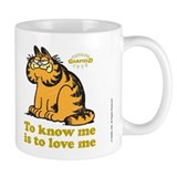 To Know Me Is To Love Me Small Mug