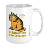 To Know Me Is To Love Me Coffee Mug