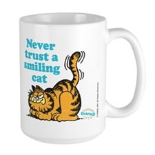 Smiling Cat Ceramic Mugs