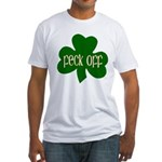 Feck Off Fitted T-Shirt